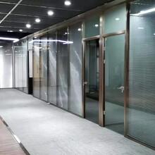 珠海市固定玻璃隔断供货商图片