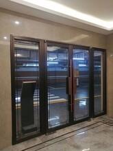 石家莊防火玻璃門不銹鋼防火玻璃門圖片