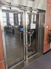 泰安防火玻璃門不銹鋼防火玻璃門圖片