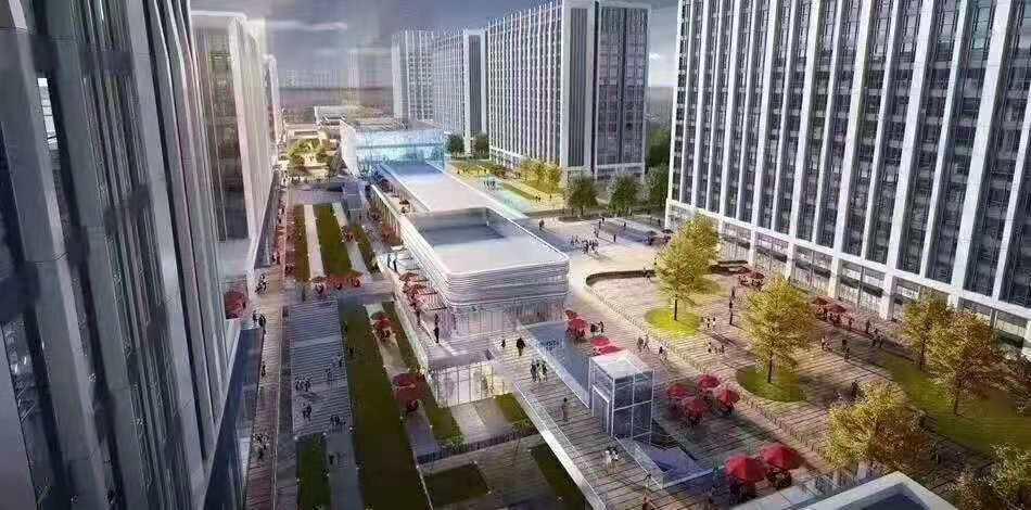 白溝京雄世貿港項目位置首付只有20萬