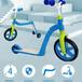廠家直銷四合一兒童滑板車多功能兒童平衡車可坐可站