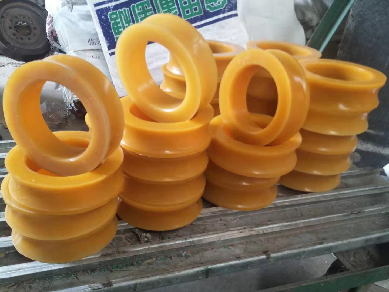 厂家聚氨酯猴车轮衬套钢丝绳轮衬垫胶圈