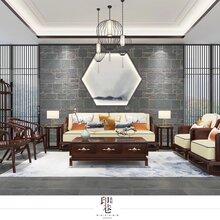 泉州厦门博美红木家具漳州新中式家具沙发茶桌茶台图片