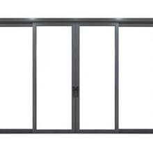 丹灶铝合金门窗搭建安装图片