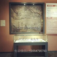 深圳字画博物馆展示柜厂家,字画博物馆展柜效果图,字画博物馆展柜设计图片