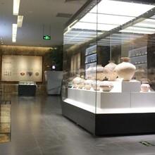 汕头大学博物馆展柜订做厂家展柜图片
