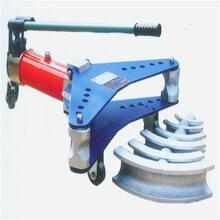 厂房弯弧机来回滚动式弯管机DWQJ-G63圆管方管滚圆机图片