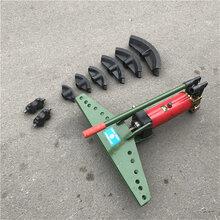 SWG手動液壓彎管機90度鋼管成型壓彎機小型煨彎機圖片