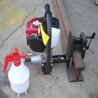 汽油钢轨打孔机手提式钢轨钻孔机内燃钢轨钻孔机