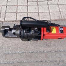 手提式电动钢筋切断机便携式钢筋切断机圆钢电动液压剪断机图片
