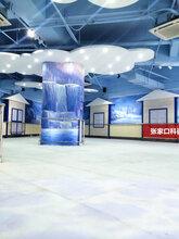 仿冰场冰板围栏围挡冰场设计生产安装一条龙图片