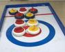 冰雪進校園用陸地冰壺球賽一套價格優惠