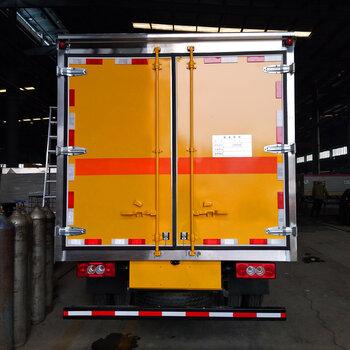 桂林腐蝕品廂式運輸車報價