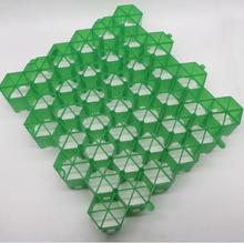 植草格厂信誉棋牌游戏大批量供应多种规格型号绿化用HDPE塑料植草格图片