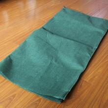 河堤护坡绿化用绿色无纺布土工布生态袋图片