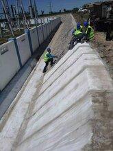 厂家常年生产现货充足水泥毯沟渠护坡蓄水池路面用混凝土帆布图片