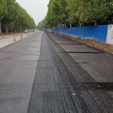 路面用防開裂耐高溫玻纖土工格柵圖片