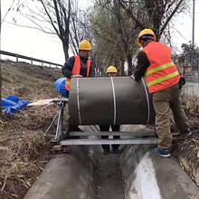 现货直销水泥毯护坡护渠用浇水固化水泥毯图片