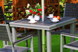 佛山塑木桌椅熱銷