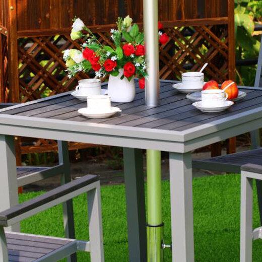 塑木桌椅图