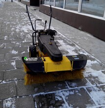 滾刷掃雪機QS65100小型掃雪機清掃效率高圖片