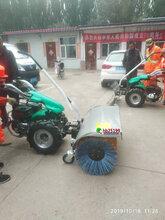 扫雪机QS420小型扫雪机,步行道路清雪机供应商图片