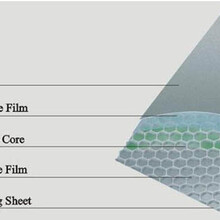 衛生間隔斷不銹鋼蜂窩板高層大廈會展中心不銹鋼蜂窩板裝飾圖片