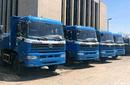 上海松江區工地拉土、貨車打臺班圖片