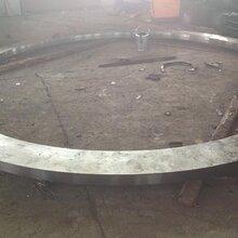 风电锻造法兰大型锻造法兰Q345风电法兰厂家合金钢定做图片