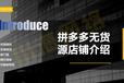 吉林長春拼多多店群項目創業招商,批量采集上貨小象軟件貼牌