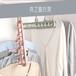 杭州奕之晾鞋架-陽臺雙鉤多功能結實好用塑料曬鞋架