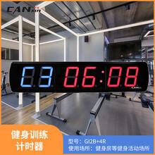 室內電子led計時器贛鑫1英9位高清LED數碼管小型多功能計時器圖片