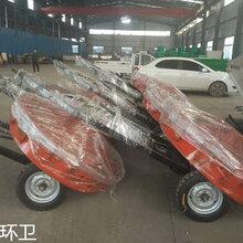 云南玉溪扫路机-拖拉机扫路机-风火轮扫路机厂家定制图片
