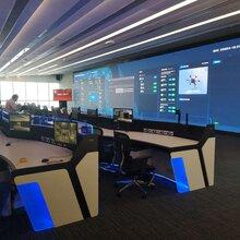 应急指挥中心操作台、指挥控制台、调度台、监控操作台图片