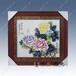 高檔手繪江西瓷板畫廠家客廳裝飾瓷板畫哪家比較好