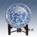 订制青花陶瓷大瓷盘礼品陶瓷大瓷盘酒店装饰大瓷盘