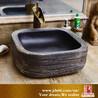 陶瓷艺术立柱洗脸盆