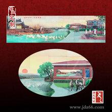 专业定做陶瓷壁画订制陶瓷瓷板画陶瓷工艺品厂家图片