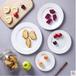 景德鎮純白色骨瓷盤子創意陶瓷平盤淺盤家用菜盤碟西餐牛排盤