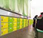 廠家現貨供應校園ABS塑料書包柜教室走廊塑料存包柜