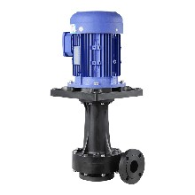 FRPP立式污水泵耐酸堿7.5kw立式泵槽外耐腐蝕液下泵圖片