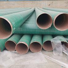 衡水玻璃钢管道玻璃钢夹砂管道生产厂家直销可加工定制图片