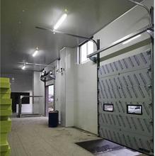 山东雪盾工业提升门,装卸平台电动滑升门,可定制提升门厂家直销
