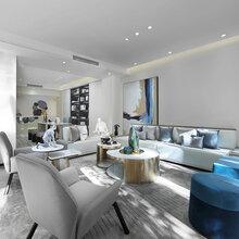 简雅与轻奢的现代风,客厅宽敞大气,餐厅吧台最吸睛,好看