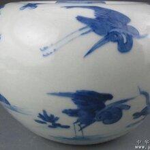 重庆中国三峡博物馆馆藏清代顺治青花瓷赏析图片