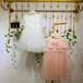2020年新款公主裙童衣坊女童純色紗紗裙品牌折扣童裝連衣裙批發