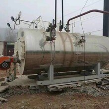 河南水洗厂转让4吨卧式锅炉图片