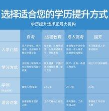 東莞南城成人學歷教育提升專業