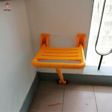 楼道折叠坐凳厂家供应过道楼道转角休息椅爱心折叠凳休息凳图片