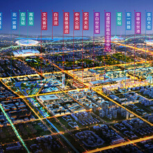 白溝樓盤京雄世貿港三期具體規劃施工圖圖片